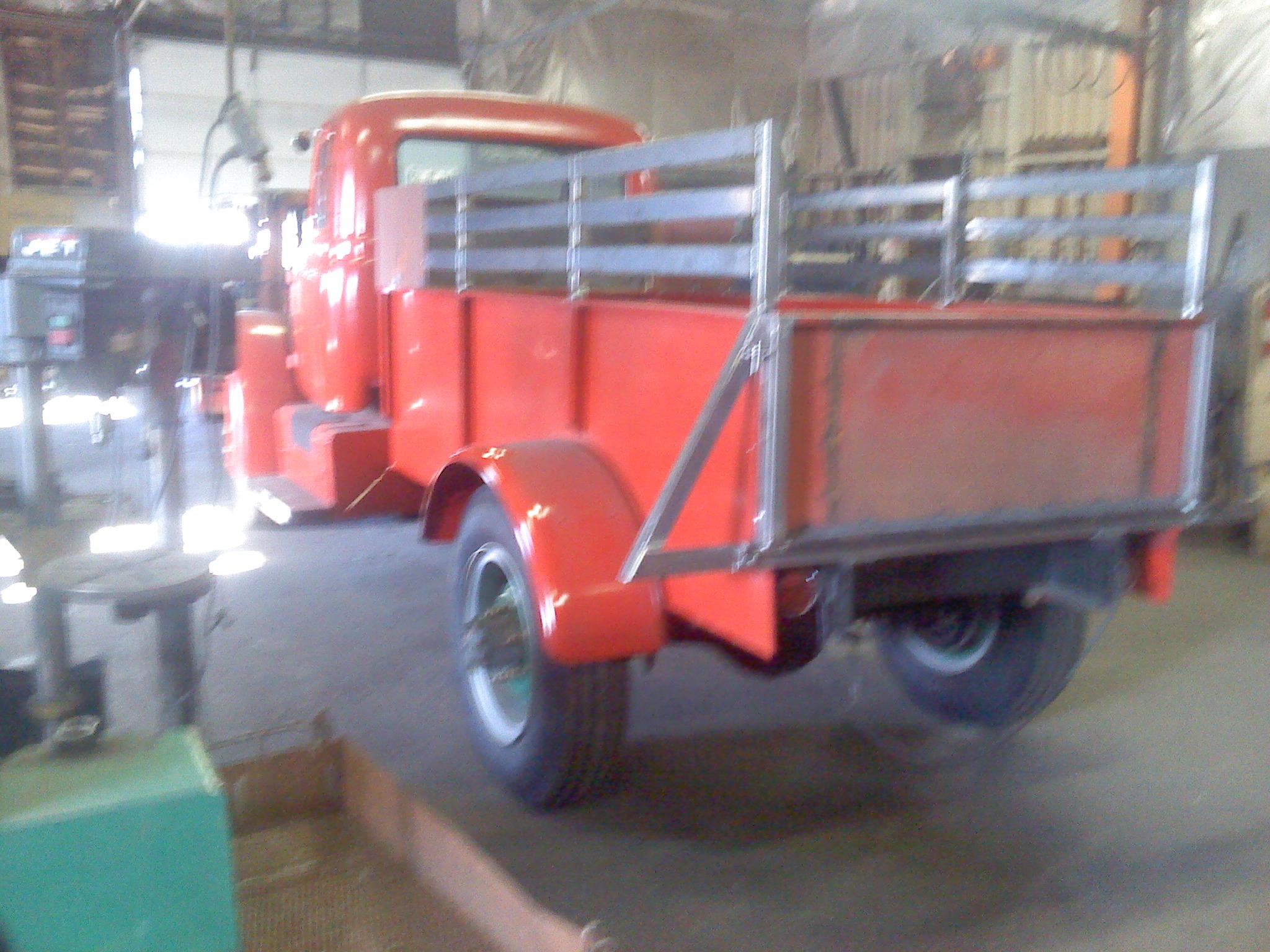 Custom Truck Gate and Railing