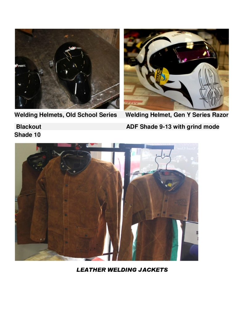 Welding helmets and jackets-1